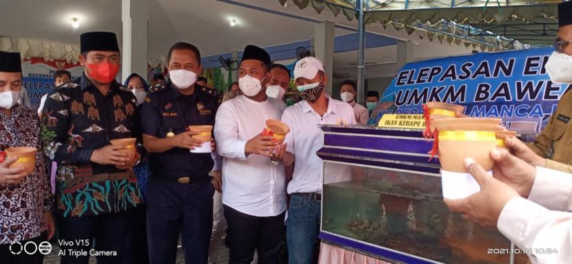Bea Cukai Gresik kembali laksanakan pelepasan ekspor perdana pada Senin (18/10) di Pendopo Kecamatan Sangkapura.