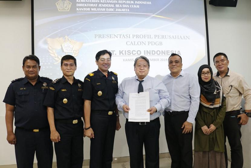 Bea Cukai memberikan fasilitas kepabeaan kepada PT Kisco Indonesia.