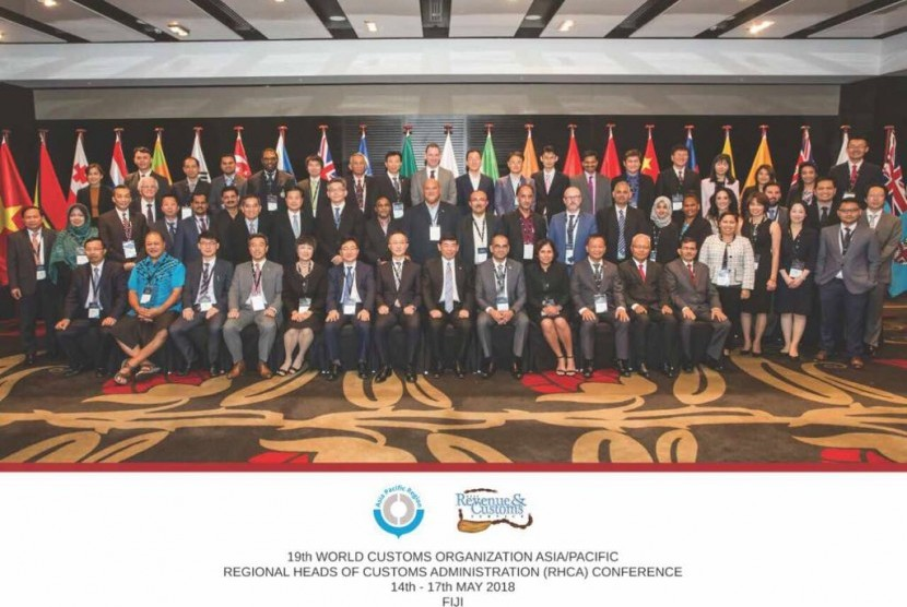 Bea Cukai menghadiri merupakan pertemuan rutin tahunan pimpinan administrasi pabean 22 negara dan World Customs Organization (WCO) se Asia-Pasifik di Fiji pada 14-16 Mei 2018.