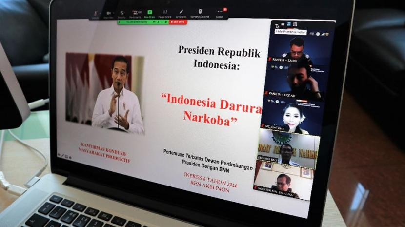 Bea Cukai Ngurah Rai gelar seminar daring mengenai bahaya narkoba dalam rangka memperingati Hari Anti Narkoba.