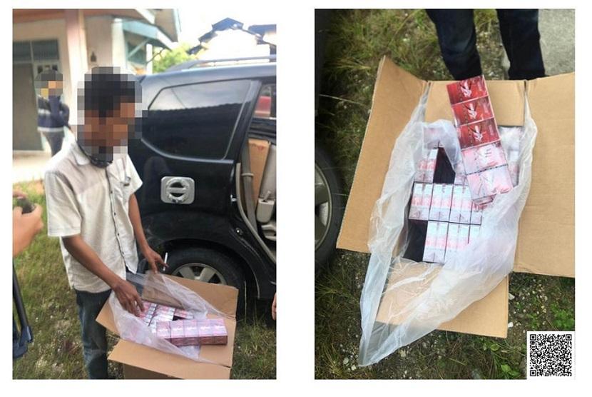 Bea Cukai Pekanabaru, pada Selasa (23/6) kembali berhasil menggagalkan peredaran 430 ribu batang rokok ilegal di daerah Pandau, Pasir Putih, Pekanbaru.