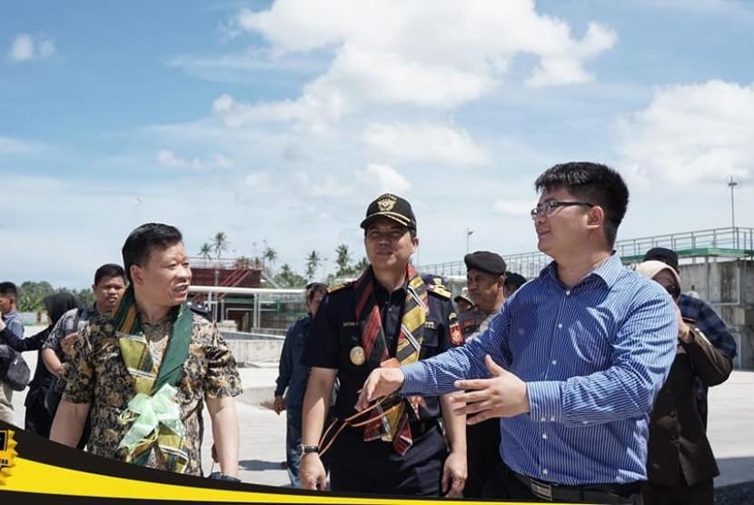 Bea Cukai Sulawesi Bagian Selatan berikan izin fasilitas Kawasan Berikat kepada PT Biota Laut Ganggang.