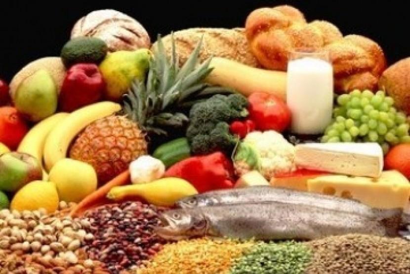 Beberapa sumber makanan bebas kolesterol (ilustrasi)