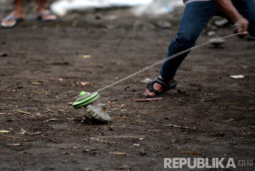 Bogor Bangun Taman Gasing Bukan Untuk Bermain Gasing Republika Online