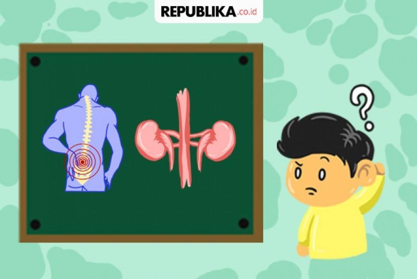 Beda nyeri punggung bawah dan sakit ginjal.