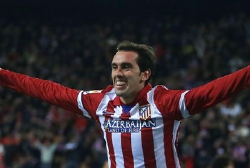 Bek Atletico Madrid Diego Godin