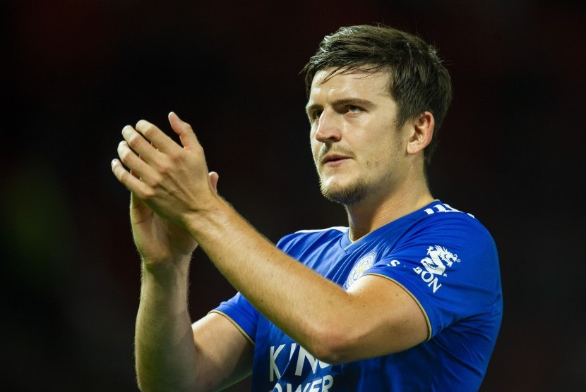 Bek Leicester City, Harry Maguire.
