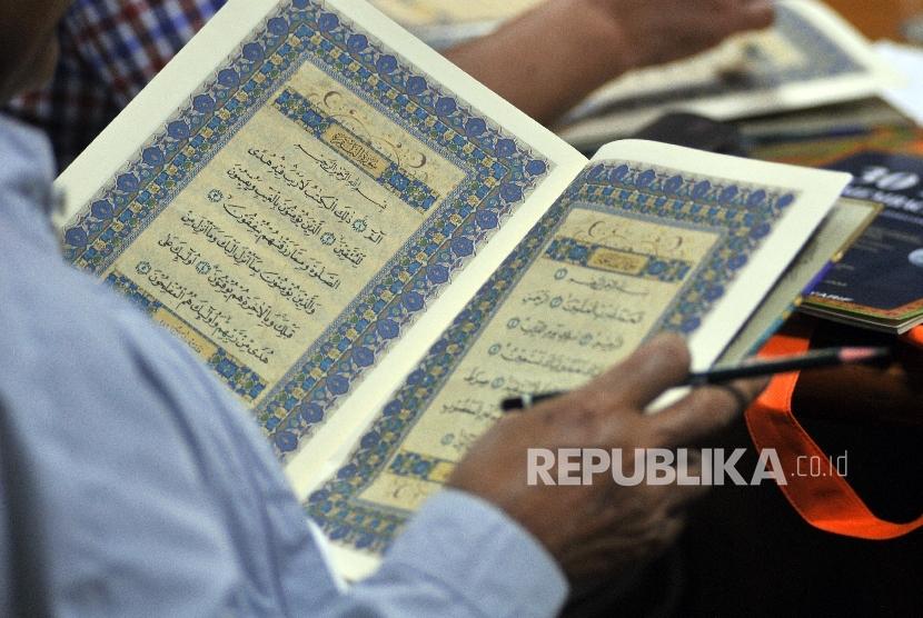 Belajar lancar membaca Alquran (Ilustrasi)