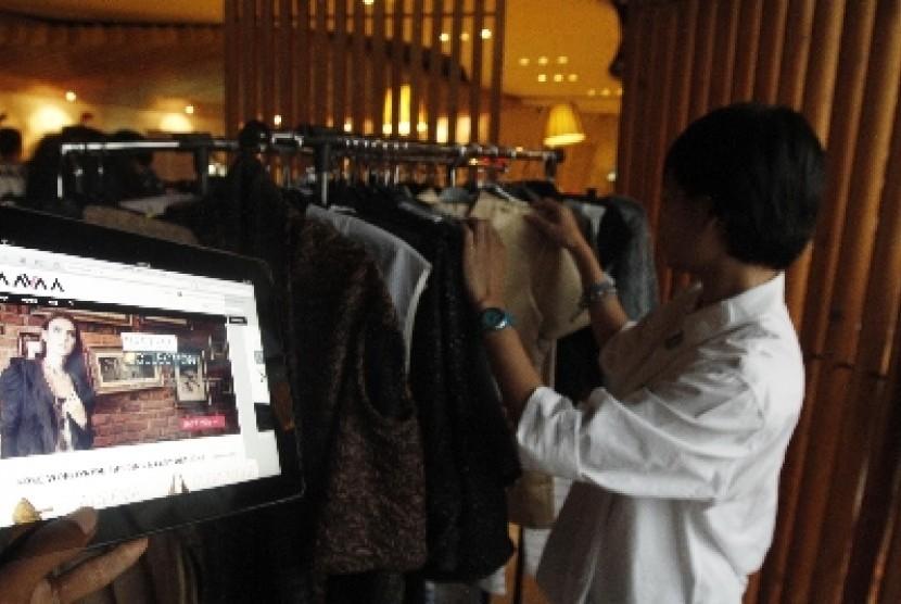 Belanja online/ilustrasi