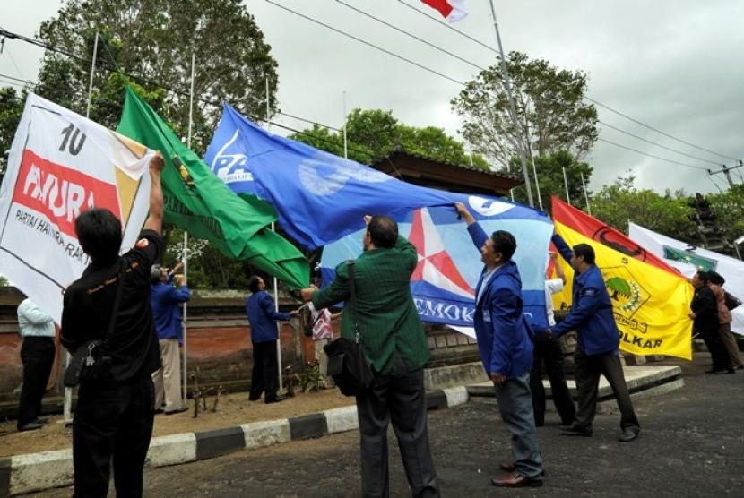 Bendera-bendera Partai Politik