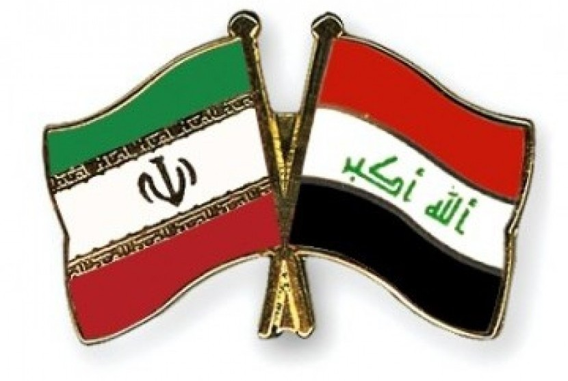 Bendera Iran Irak