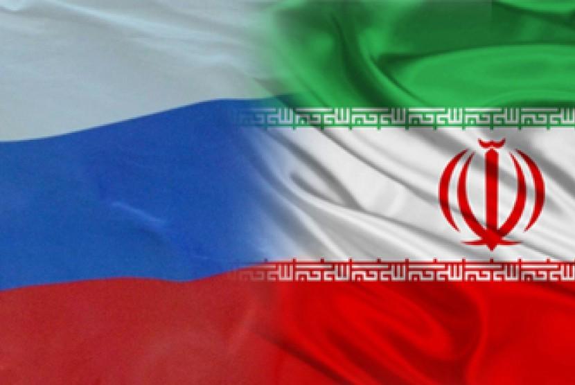 Bendera Iran-Rusia