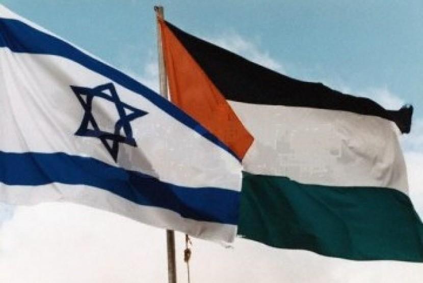 Bendera Israel-Palestina