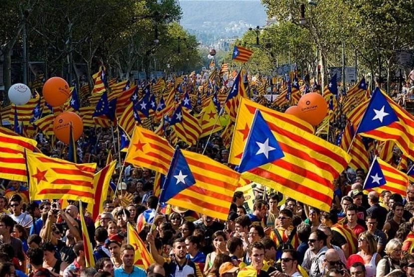 Bendera Katalan (ilustrasi)