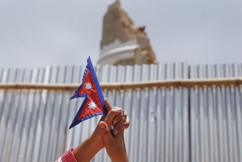 Bendera Nepal.