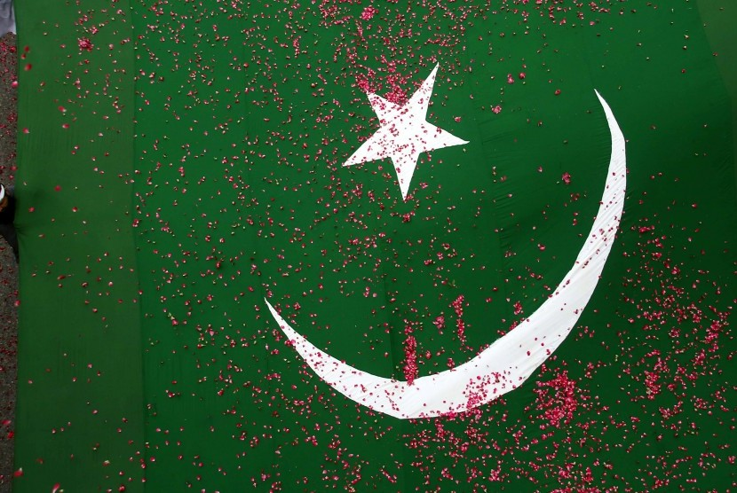 Bendera Pakistan.