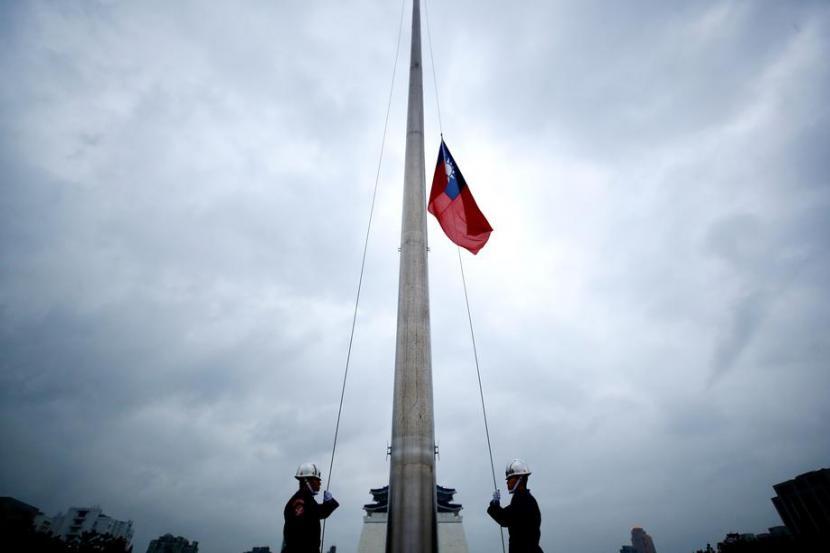 Bendera Taiwan. Ilustrasi.