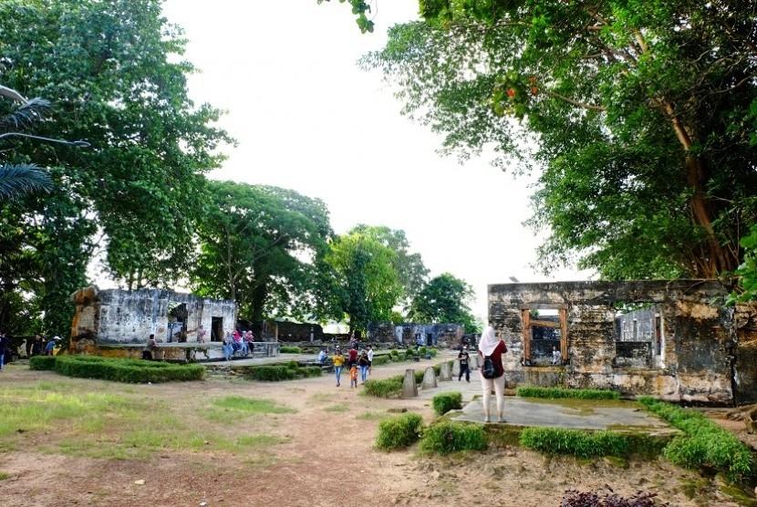 Benteng Toboali di Bangka Selatan