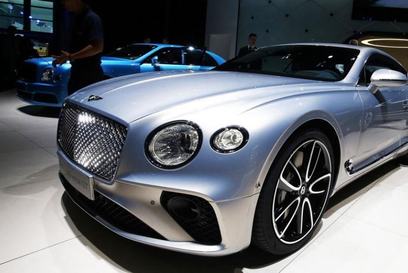 Bentley. Ilustrasi