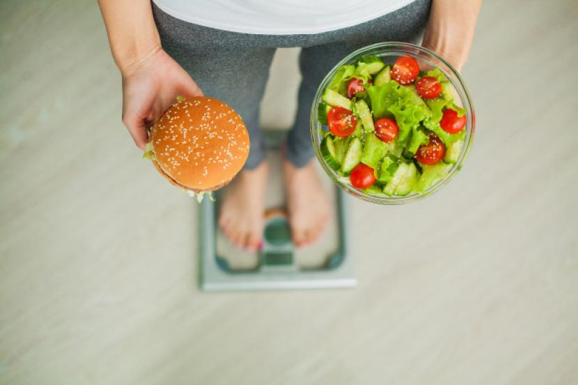 Berat badan tidak turun meski sudah diet (ilustrasi).