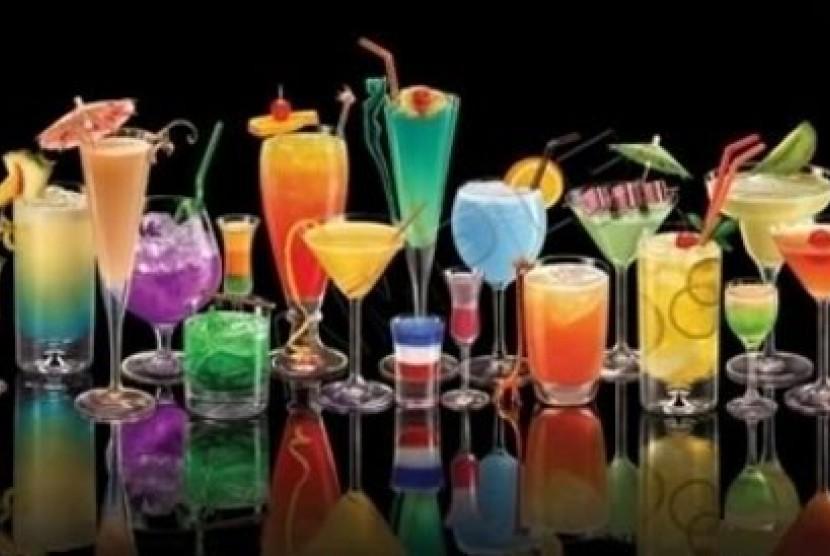 Berbagai jenis minuman manis (ilustrasi)