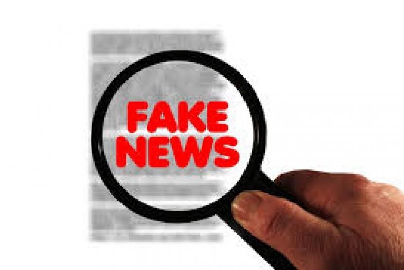 Berita bohong atau hoax.
