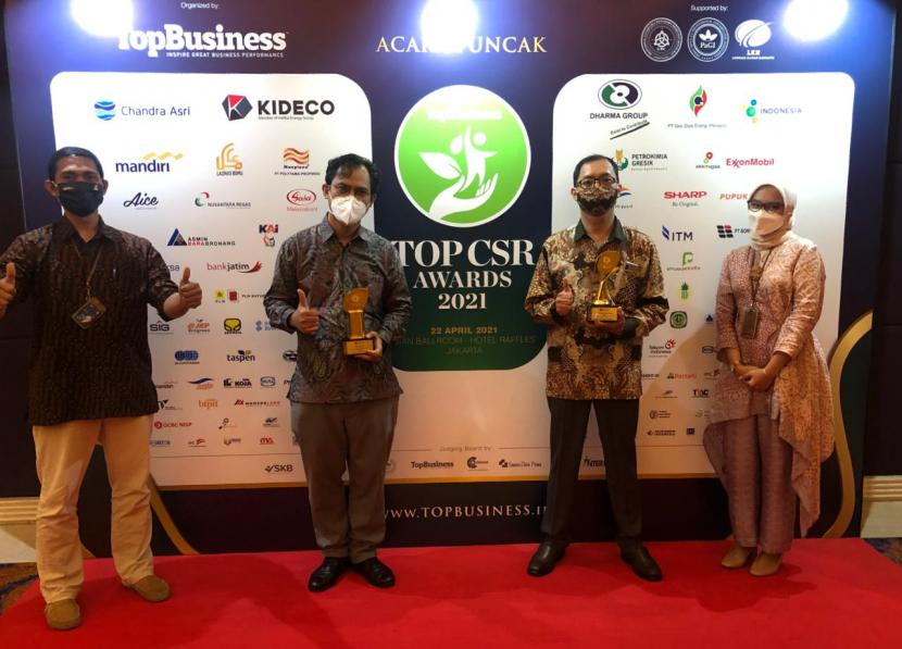 Berkat komitmen menjalankan tanggung jawab sosial dan memiliki kepedulian yang tinggi terhadap sosial, ekonomi masyarakat, dan lingkungan, PT Perusahaan Gas Negara Tbk (PGN) mendapatkan Top CSR Awards 2021 #Star 4 dari Majalah Top Business, (22/4).