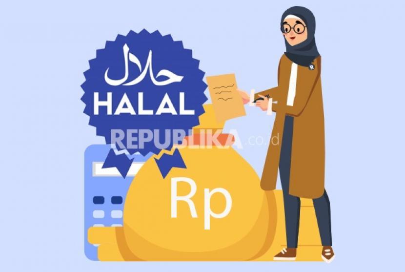 Biaya pembuatan sertifikat halal produk.