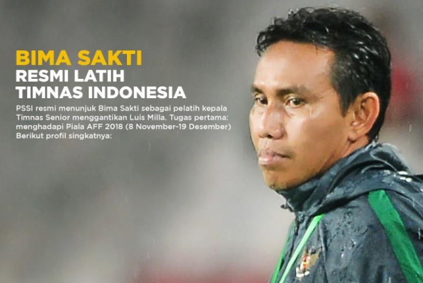 Bima Sakti resmi menjadi pelatih Timnas Senior.