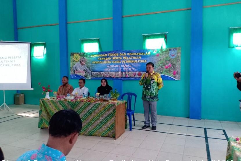 Bimtek Budidaya bunga melati di Banjar Jawa Tengah