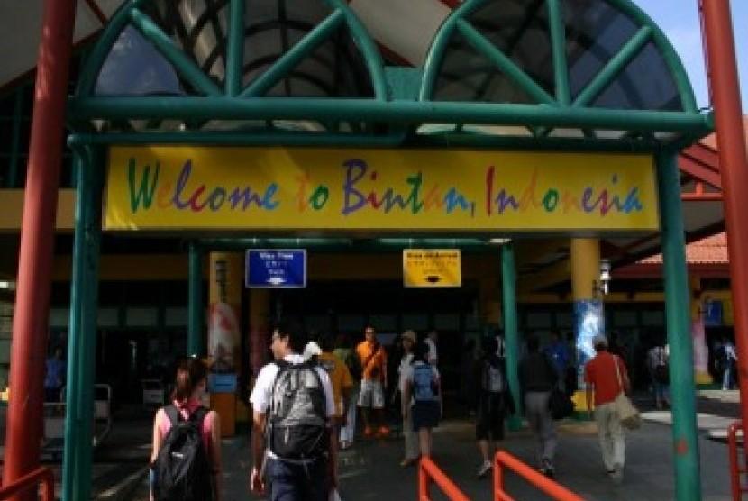 Bintan, salah satu daerah tujuan wisata Indonesia