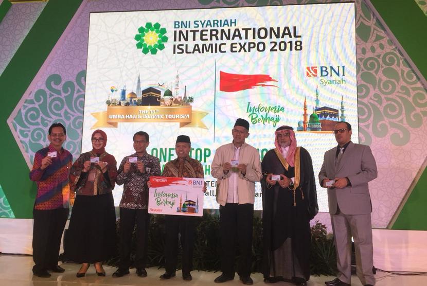 BNI Syariah Islamic International Expo 2018 resmi dibuka, Sabtu (21/9), di Jakarta Convention Center, Jakarta.