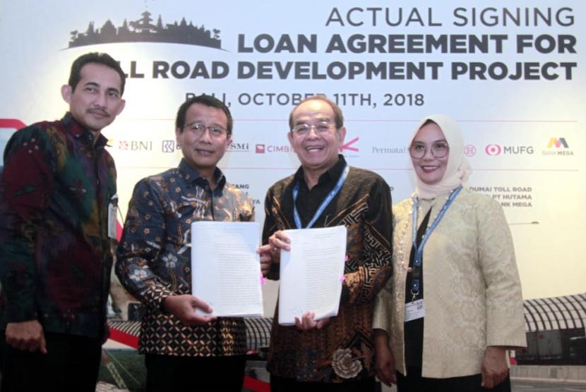 BNI turut biayai Jalan Tol Trans Sumatera dengan memberikan KI maksimum sebesar Rp 2,45 triliun.