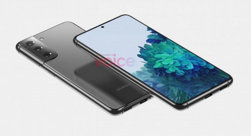 Bocoran Gambar Samsung Galaxy S21 dan S21 Ultra