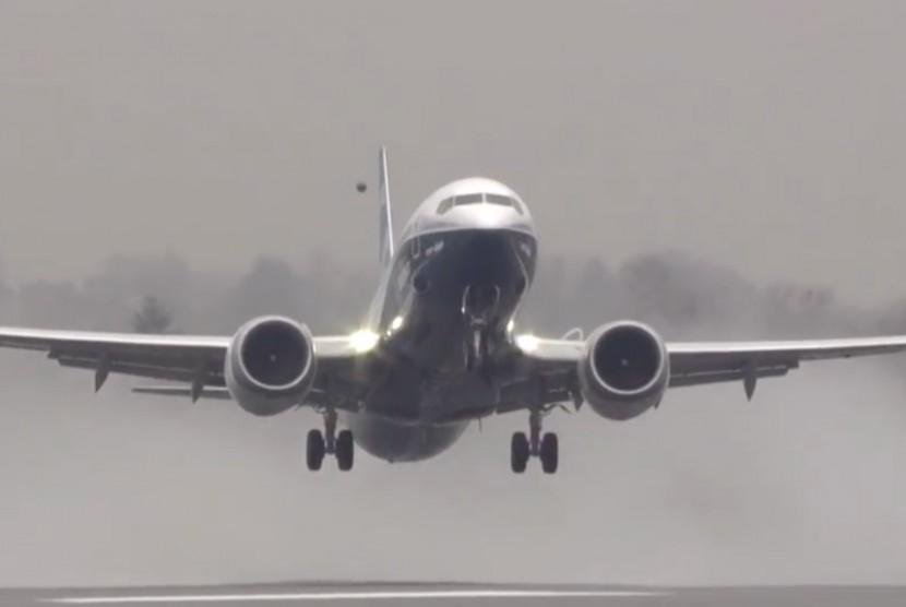 Boeing 737 MAX 8 (Ilustrasi)