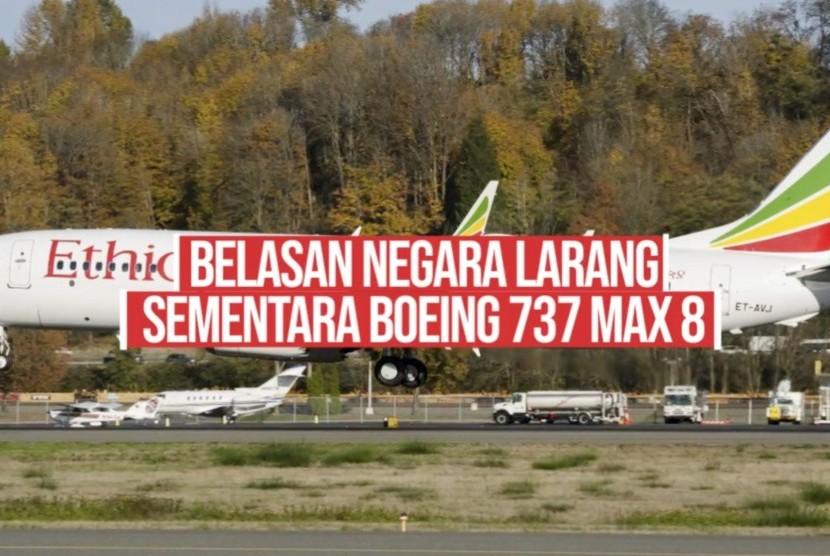 Boeing 737 MAX 8 milik Ethiopian Airlines (ilustrasi).