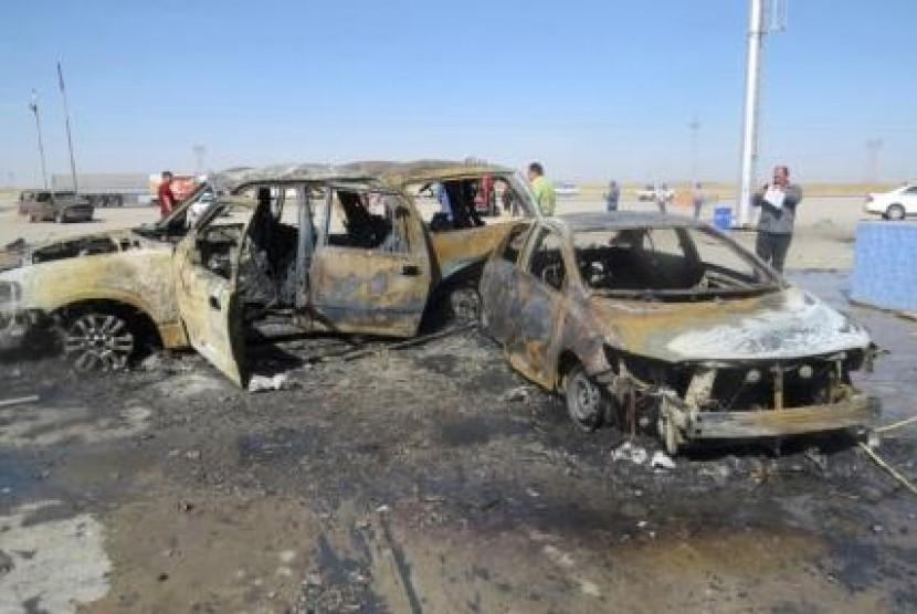 Bom mobil di Irak, awal pekan ini (5/5).