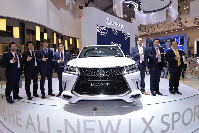 Booth Lexus di GIIAS 2019.