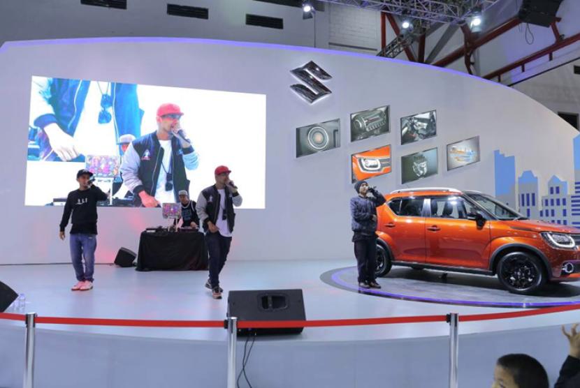 Booth Suzuki di IIMS 2017.