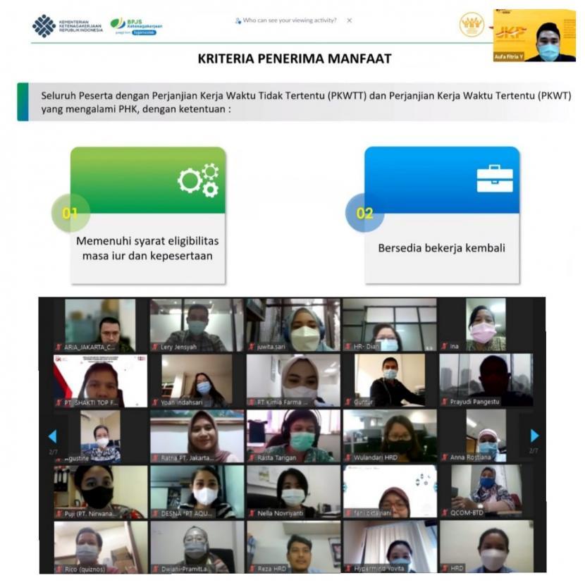 BPJAMSOSTEK Jakarta Gambir Sosialisasi Masif Program JKP
