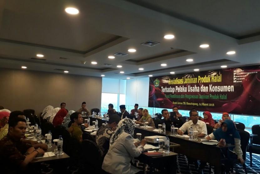 BPJPH menggelar sosialisas bagi pengusaha dan konsumen (Foto: kemenag.go.id)