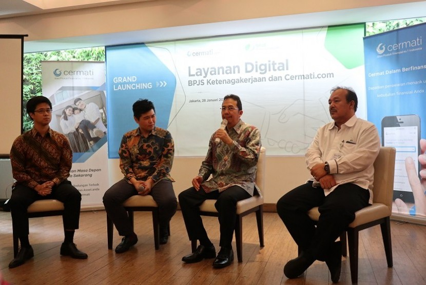 BPJS Ketenagakerjaan gandeng Cermati.com tingkatkan kepesertaan mandiri dengan digital onboarding.