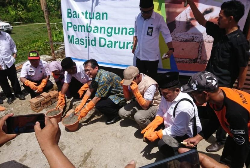 BPJS Ketenagakerjaan menjalin kerjasama dengan Rumah Zakat dalam proses rehabilitasi pasca gempa Sulawesi Tengah.