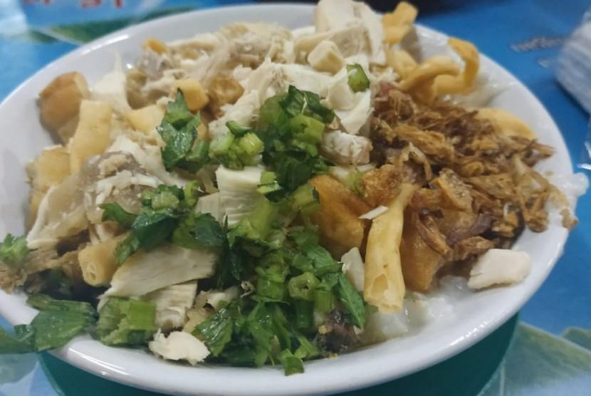 Bubur Ayam Barito Cuma Ada Di Jl Gandaria Tengah Iii Republika Online