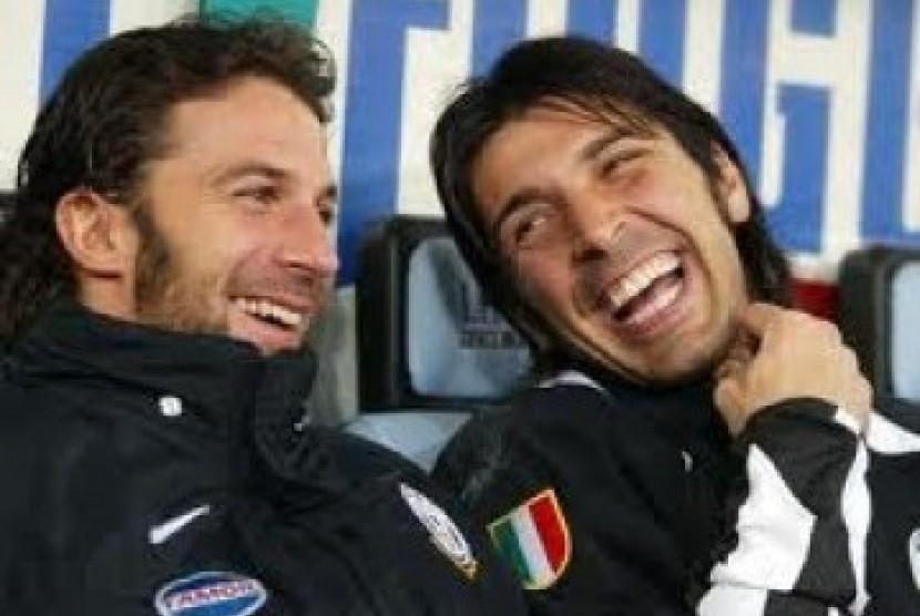 Buffon dan Del Piero