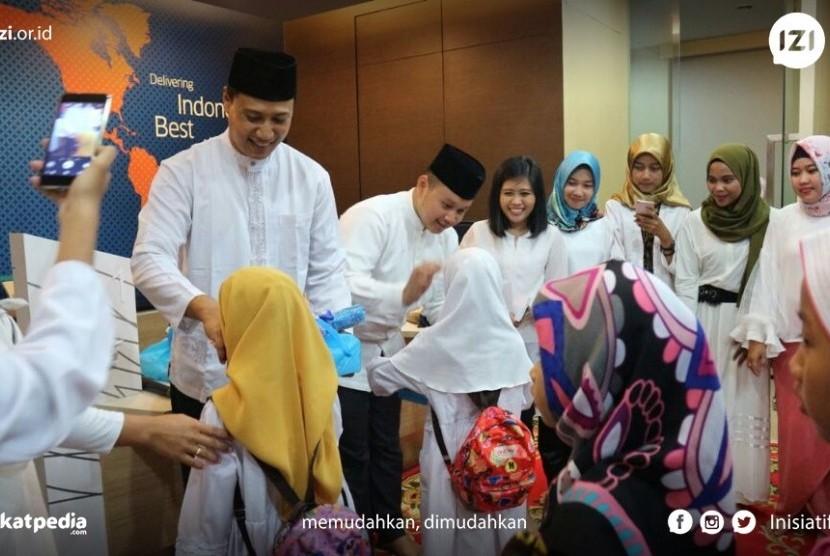 Buka Puasa Bersama yang diselenggarakan oleh PT. Garuda Indonesia (Persero) Tbk Kalimantan Utara dan Lembaga Amil Zakat Nasional (LAZNAS) Inisiatif Zakat Indonesia (IZI) Perwakilan Kalimantan Utara (Kaltara).