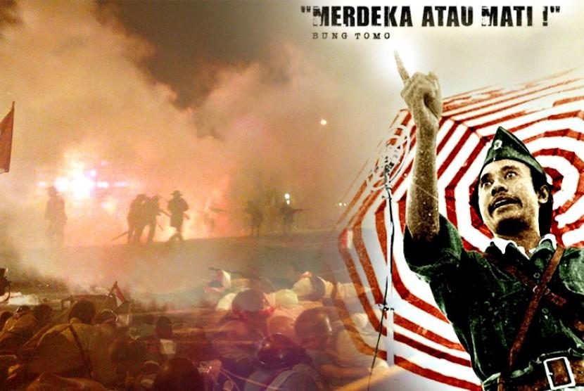 Bung Tomo, Sang Pembakar Perlawanan Surabaya (bagian 1