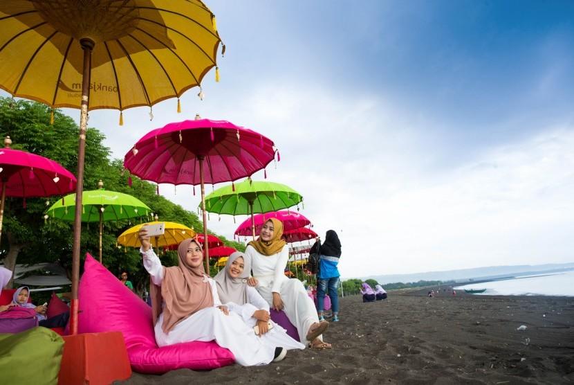 Bupati Banyuwangi: konsep pengembangan Pulau Santen meski belum benar-benar tertata untuk menyemangati masyarakat dan semua elemen agar semakin kompak bahu-membahu menata Pulau Santen.