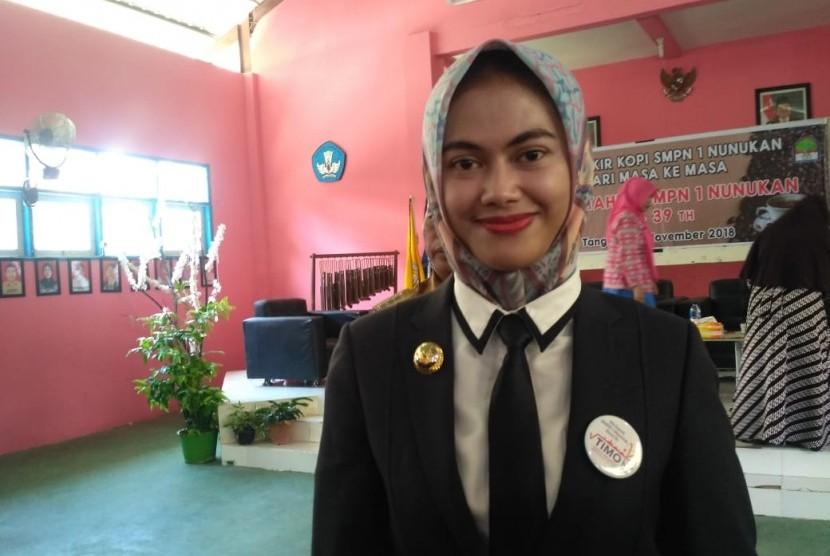 Bupati Kabupaten Nunukan, Kalimantan Utara, Asmin Laura Hafid.
