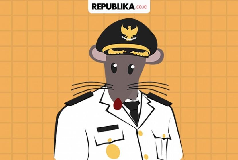 Terpidana korupsi di DPRD Kota Tual, Provinsi Maluku, Ade Ohoiwutun ditangkap di Kelurahan Sukamadu, Kecamatan Cilodong, Kota Depok, Provinsi Jawa Barat (Jabar).